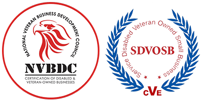 NVBDC Certified and Certified Service Disabled Veteran-Owned Small Business